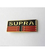 TOYOTA SUPRA AUTOMOBILE CAR LOGO LAPEL PIN BADGE 3/4 INCH - $4.46