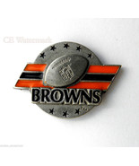 CLEVELAND BROWNS NFL FOOTBALL LOGO LAPEL PIN 1 ... - $5.59