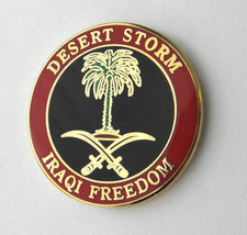 Operation Desert Storm Iraqi Freedom Lapel Pin ... - $4.46