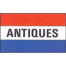 ANTIQUES SALE EVENT SIGNAGE POLY BANNER 3X5 FOOT FLAG - $7.47