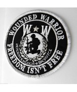 WOUNDED WARRIOR CLASSIC ROUND EMBROIDERED PATCH... - $4.94