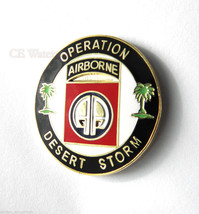 82nd Airborne Operation Desert Storm Army Lapel Pin Badge 1 inch - $4.70