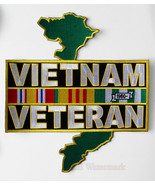UNITED STATES VIETNAM VETERAN EXTRA LARGE EMBRO... - $16.92