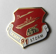 US Army Air Force Navy Marines USMC Desert Storm 1991 Lapel Pin Badge 1 ... - $4.46
