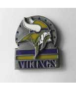 MINNESOTA VIKINGS NFL FOOTBALL LOGO LAPEL PIN - $5.59