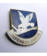 USAF US AIR FORCE SECURITY FORCES DEFENSOR FORTIS LAPEL PIN BADGE 1 INCH - $4.46