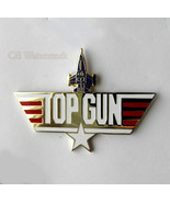 UNITED STATES NAVY USN TOP GUN LARGE LOGO PIN B... - $5.41