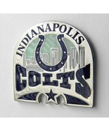INDIANAPOLIS COLTS SKYLINE NFL FOOTBALL METAL E... - $5.89