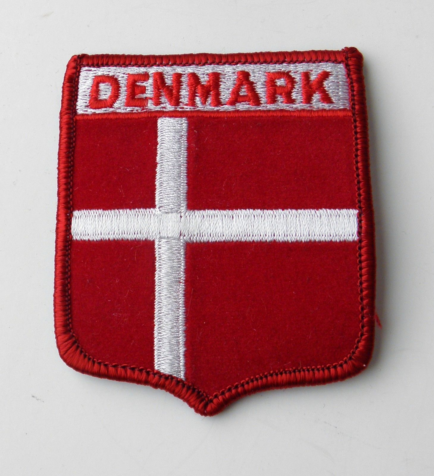 Denmark danish world country flag quality embroidered