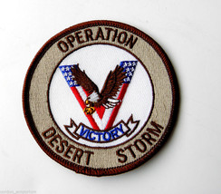 OPERATION DESERT STORM GULF WAR VICTORY EMBROIDERED PATCH 3 INCHES - $4.69