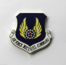 UNITED STATES AIR FORCE MATERIEL COMMAND SHIELD LAPEL PIN BADGE 1 INCH - $4.46