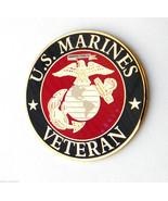 US MARINE CORPS VETERAN USMC MARINES LAPEL PIN ... - $5.59