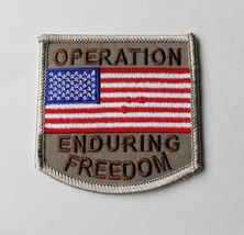 OPERATION ENDURING FREEDOM EMBROIDERED PATCH 2.5 INCHES - $4.69