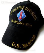 EMBROIDERED USMC MARINE CORPS 1ST MARINES DIVIS... - $10.81
