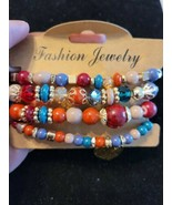 Ladies Bohemian Metal Rust Colored  Multi Layer Bracelet - $4.95