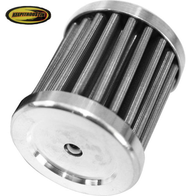 stainless steel oil filter honda trx 400 ex 1999 2000 2001. Black Bedroom Furniture Sets. Home Design Ideas