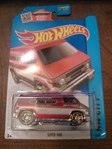 hot wheels hw city super van 55/250 2015 - $2.50