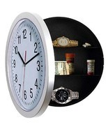 Wall Clock Safe Kitchen Stash Safe Secret Home Decor Time Dorm Room Gun ... - $35.03