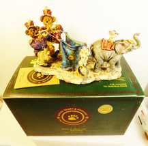 Boyds Bears Bearstone Boomer & Toot Fifi Squirt circus parade retired fi... - $74.25