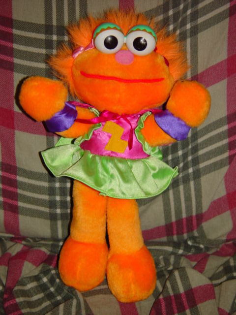 "Primary image for Tyco 1997 Super Muppet Zoe 11 1/2"" Tall"