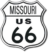 TIN SIGN Rt 66 Missouri Wall Art - $19.79