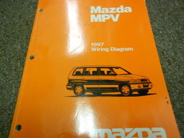 1997 Mazda MPV Van Electrical Wiring Diagram Service Repair Shop Manual 97 - $17.77