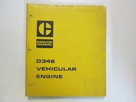 Caterpillar D346 Vehicular Engine 98N Service Shop Repair Manual BINDER ... - $42.04
