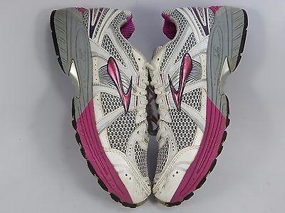 Brooks GTS 12 Women's Running Shoes Size US 10 M (B) EU 42 White 1201001B950