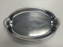 WILTON ARMETALE Hand Crafted Pewter Oval Servin... - $102.46