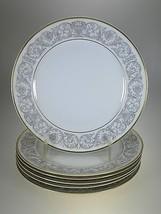 Rosenthal China Florentine Gold Salad Plates Set Of 6 - $28.01