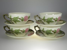 Franciscan Desert Rose Cups & Saucers Set of 4 BRAND NEW PRODUCTION - $12.16