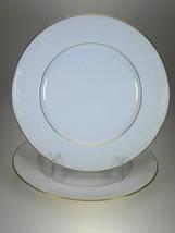 Noritake Whitecliff Salad Plates Set of 2 BRAND NEW Pattern 4083 - $9.45