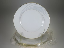 Noritake Golden Tide Bread & Butter Plates Set of 4 NEW WITH TAGS  - $17.72