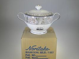 Noritake Castine Covered Sugar NEW IN BOX - $8.38