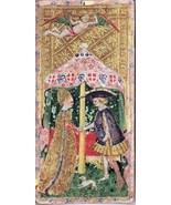 Visconti Tarot Cards deck Wicca THE LOVERS Wicca Print Poster - £9.45 GBP