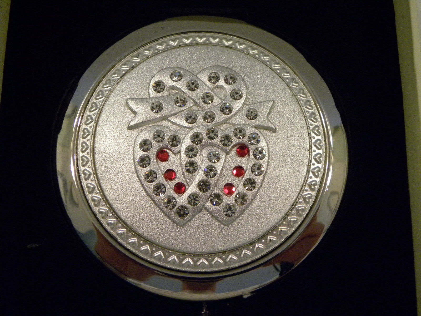 Primary image for Royal Worcester Love Compact Mirror New in Gift Box Makeup Accessory
