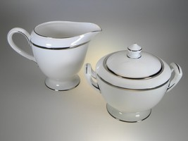 Royal Worcester Monaco Creamer & Covered Sugar Set NEW WITH TAGS Made in... - $42.97