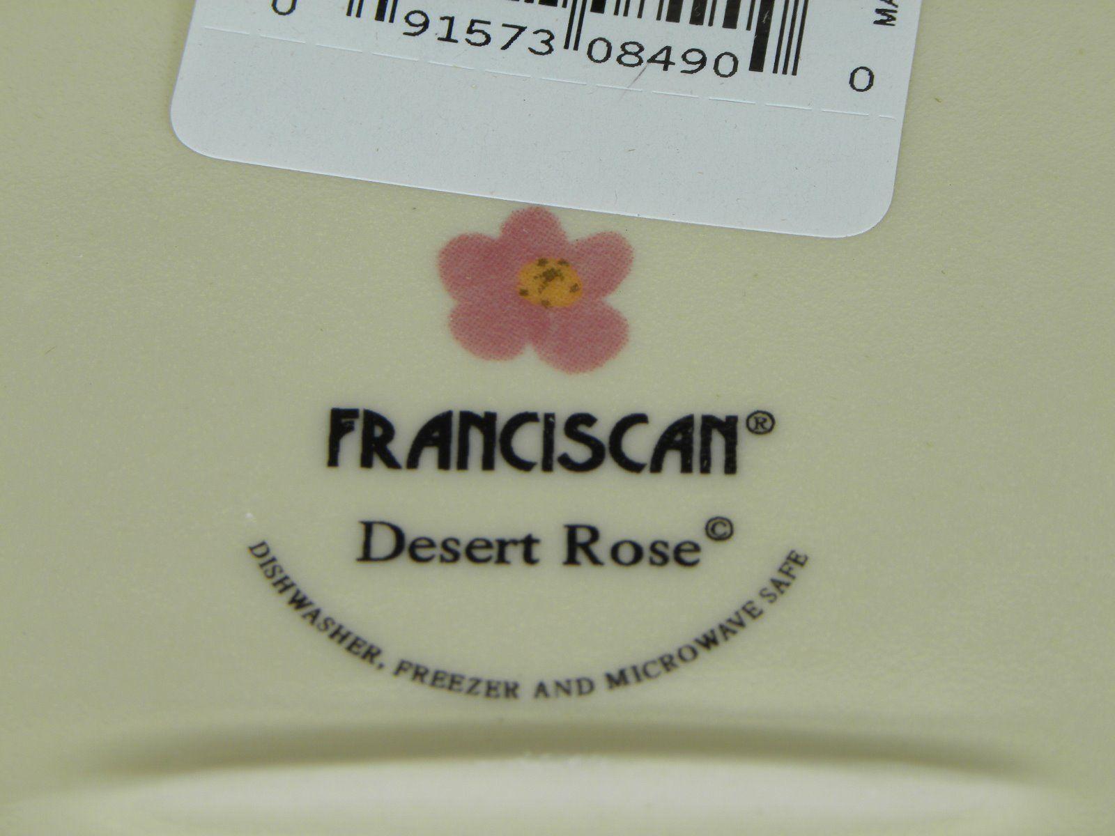 """Franciscan Desert Rose Oval Platter 14"""" BRAND NEW PRODUCTION"""