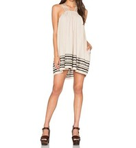 FREE PEOPLE STRUCTURED COTTON BATISTE KASHMIR TENT DRESS (Large) - $96.36