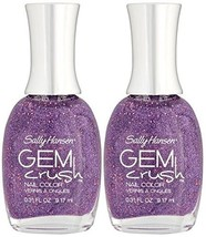Sally Hansen Gem Crush Nail Color #05 BE-JEWELED Plus a Free Nail Files From ... - $15.67