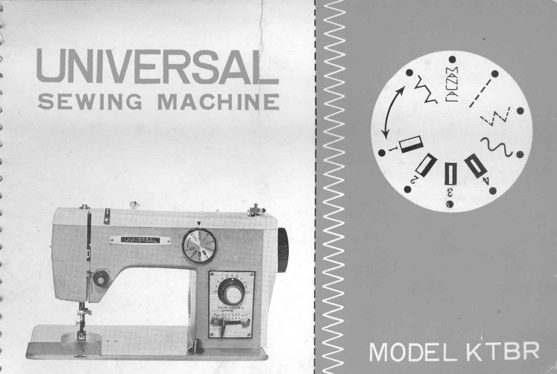 universal sewing machine manual