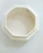 Haeger Vintage White Octagon Planter   - $24.95
