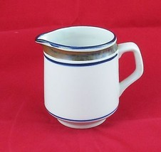 Salem Stoneware of Ohio Creamer Georgetown Blue... - $5.86
