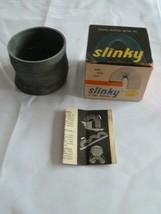 Vintage Original SLINKY Metal Wire TOY in Box James Industries Hollidays... - $32.91