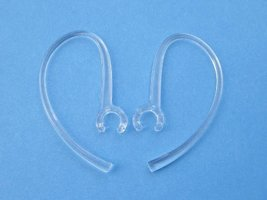 2 Clear Ear Hooks Loops for Motorola Bluetooth Headset H12 H15 HK200 HK2... - $2.44