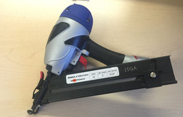 "Spotnails XBA 1564 15Ga Angled Finish nailer to 2-1/2"" - $195.00"
