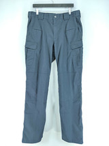 5.11 Tactical Series Utility Pants Mens Sz 36x36 Navy Blue Gusseted (k1)   - $21.99