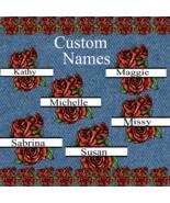 Pick up to 6 Custom Flower Split Monogram Names smp-Digital Clipart-Gift... - $4.99