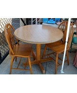 Round Dining Table and Chairs - $38.61