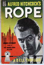 Alfred Hitchcock's ROPE (Jimmy Stewart) Dell Ma... - $75.23